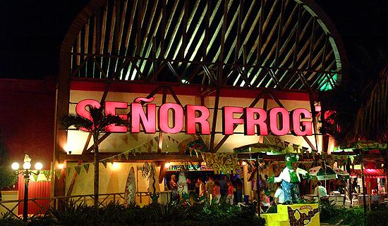 Cancun Senor Frog